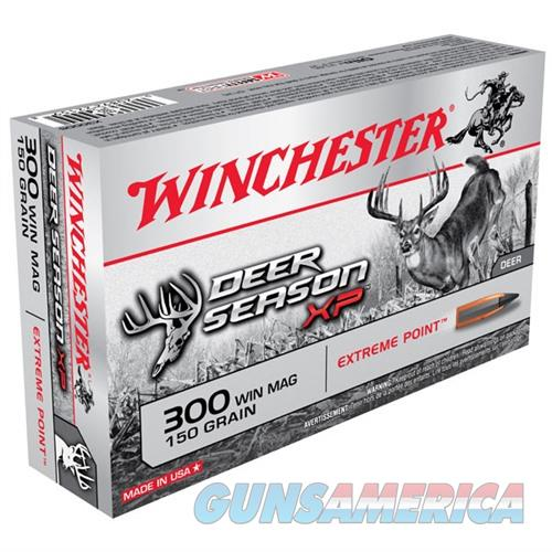 Winchester Deer Season XP 300 Win 150gr Extreme Point 20/bx  Non-Guns > Ammunition