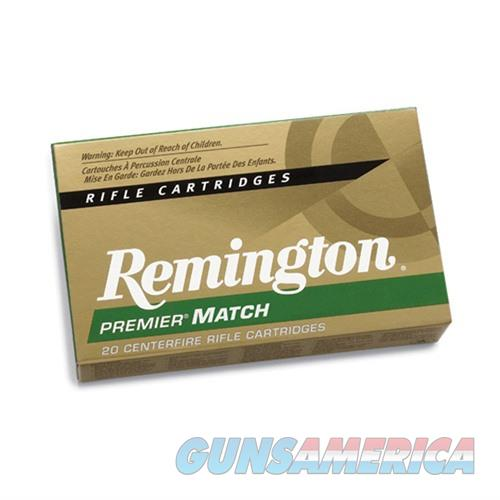 Remington Premier Match 308 Win 175gr MatchKing BTHP 20/bx  Non-Guns > Ammunition