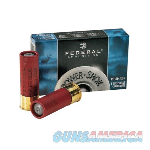 Federal Power Shok 12ga 2.75'' 1oz Slug 5/bx  Non-Guns > Ammunition