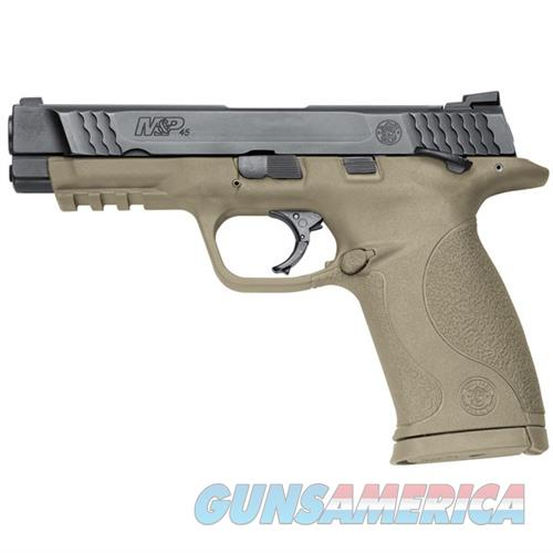 Smith & Wesson M&P45 45acp 4.5''  Bbl Thumb Safety FDE  Guns > Pistols > Smith & Wesson Pistols - Autos > Polymer Frame