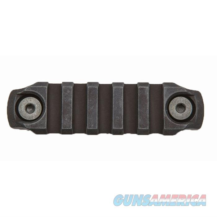 M-LOK Picatinny Rail Section Aluminum Black 3in.  Non-Guns > Gun Parts > Rifle/Accuracy/Sniper