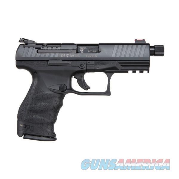 Walther PPQ M2 Q4 TAC 9mm with Threaded Barrel  Guns > Pistols > Walther Pistols > Post WWII > P99/PPQ
