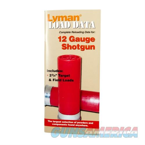 LYMAN LOAD DATA BOOK, 12 GAUGE  Non-Guns > Books & Magazines