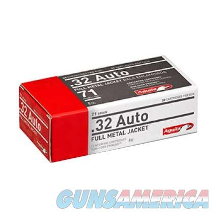 AGUILA 32 AUTO 71GR 50/BOX  Non-Guns > Ammunition