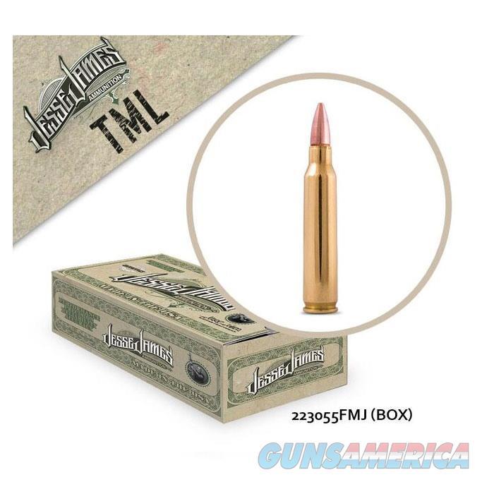 Jesse James TML 223 Rem 55 gr FMJ 50bx  Non-Guns > Ammunition