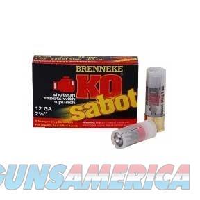 USA BRENNEKE AMMO K.O. 20 GAUGE 2 3/4IN 7/8 OZ. SLUG (5 ROUNDS PE  Non-Guns > Ammunition