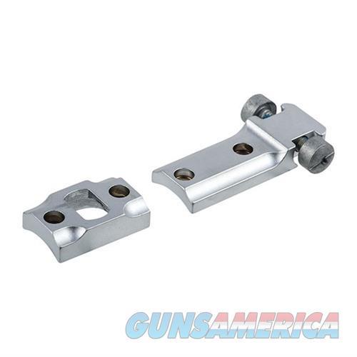Leupold STD Savage 10/110 Round Rcvr 2-pc-Silver  Non-Guns > Scopes/Mounts/Rings & Optics > Mounts > Other