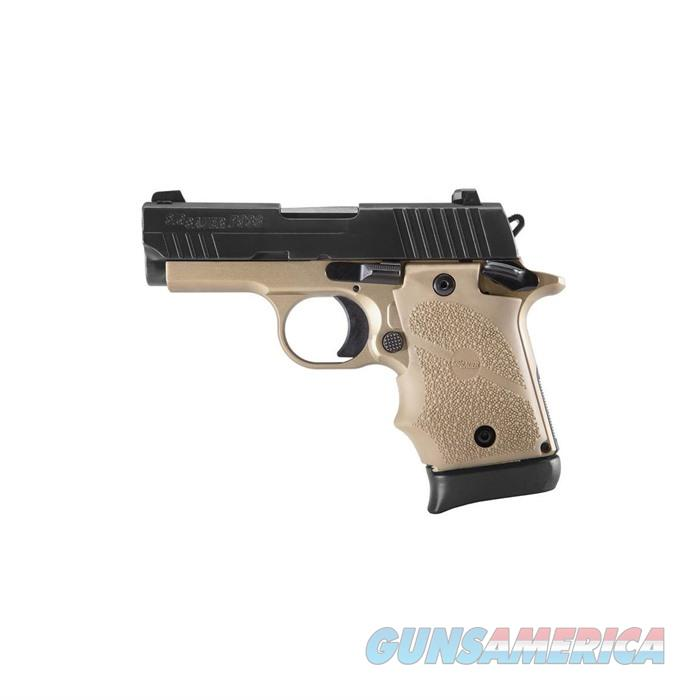 SIG P938 3'' Combat 2-Tone FDE SOA Rubber Grip 1-7Rd Mag Ambid.Sty  Guns > Pistols > Sig - Sauer/Sigarms Pistols > P938