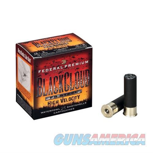 Federal Black Cloud HV 12ga 3'' 1-1/8oz #4 25/bx  Non-Guns > Ammunition