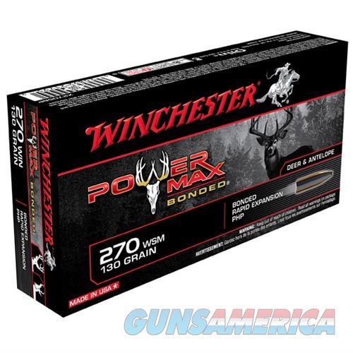 Winchester Ammo 130gr 270 Super Power Max Bond  Non-Guns > Ammunition