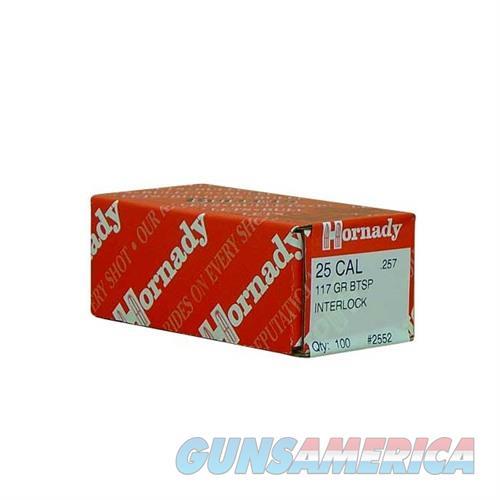 Hornady 25 CAL .257 117 GR BTSP  Non-Guns > Reloading > Components > Bullets