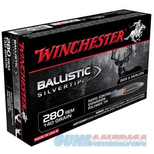 Winchester Ammo 280 Rem 140gr BST Ballistic Silver Tip  Non-Guns > Ammunition