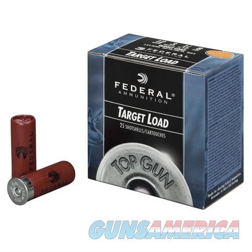 FEDERAL TOP GUN TARGET 12 GAUGE 2.75' 1-1/8OZ #7.5 25/BX (25 ROUN  Non-Guns > Ammunition