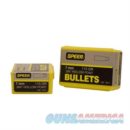 Speer Bullet 7MMcal 284-115gr HP  Non-Guns > Reloading > Components > Bullets