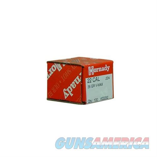 Hornady 22 CAL .224 35 GR V-MAX  Non-Guns > Reloading > Components > Bullets