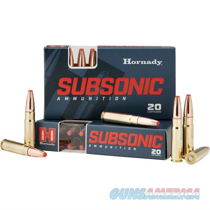 Hornady Subsonic Ammo 300 BLACKOUT 190 GR SUB-X 20/bx  Guns > Rifles > Remington Rifles - Modern > .22 Rimfire Models