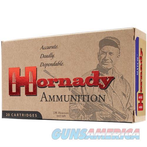 Hornady Match 223 Rem 75gr BTHP 20/bx  Non-Guns > Ammunition
