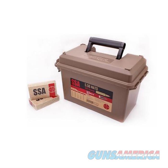 Nosler Ammo 5.56 55gr BT (Silver State Ammo) 300 ct Can  Non-Guns > Ammunition