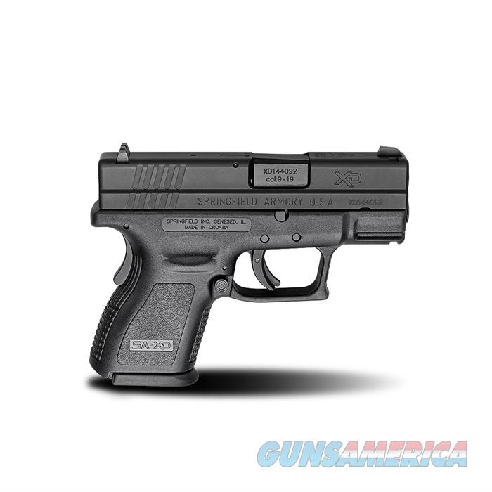 Springfield Xd 3''Bbl 9Mm 13 Rd Black  Guns > Pistols > Springfield Armory Pistols > XD (eXtreme Duty)