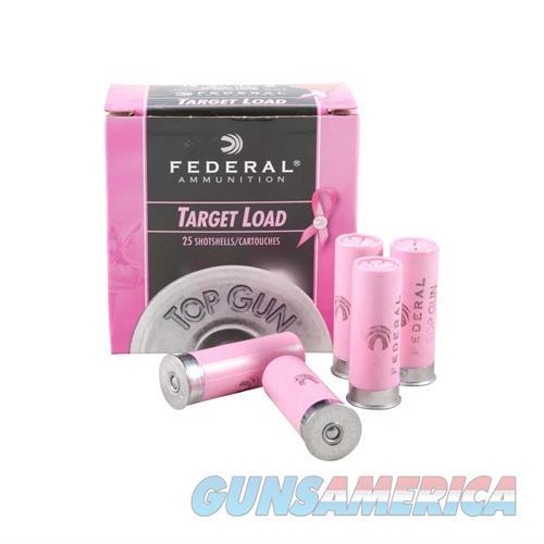 FEDERAL AMMO 12 GAUGE TOP GUN PINK 2 3/4IN 1 1/8OZ #8  Non-Guns > Ammunition