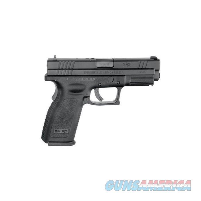 Springfield Xd Service 4''Bbl 9Mm 10 Rd Black  Guns > Pistols > Springfield Armory Pistols > XD (eXtreme Duty)