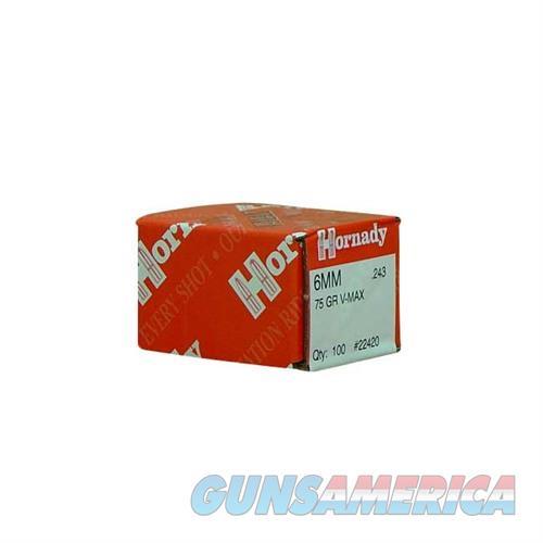 Hornady 6MM .243 75 GR V-MAX  Non-Guns > Reloading > Components > Bullets
