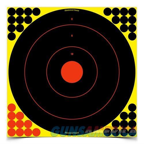 Shoot-N-C 17.25'' Bull's-Eye Target 5 Sheet Pack  Non-Guns > Targets > Clay Throwers