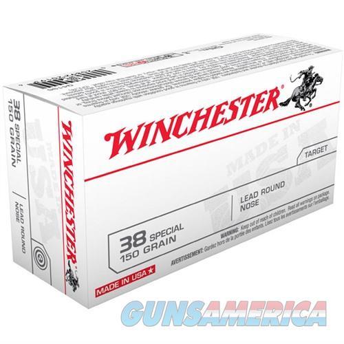 Winchester Ammo 38 SPL USA 150gr Lead RN 17#  Non-Guns > Ammunition