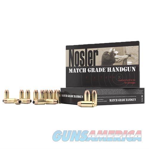 NOSLER MATCH GRADE AMMO 40 S&W 150GR JHP 50/BX  Non-Guns > Ammunition
