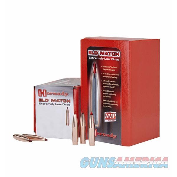 HORNADY 30 CAL 208GR ELD-MATCH 100/BOX  Non-Guns > Reloading > Components > Bullets