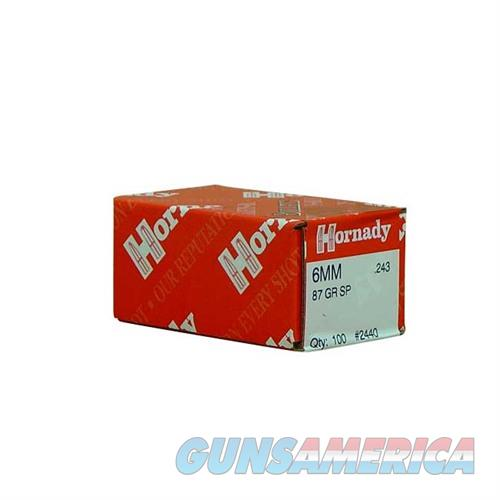 Hornady 6MM .243 87 GR SP  Non-Guns > Reloading > Components > Bullets