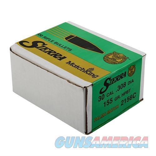 Sierra Bullet .30 7.62mm 155gr. HPBT Match Palma  Non-Guns > Reloading > Components > Bullets