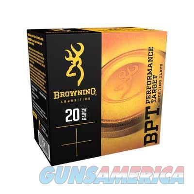 BROWNING 20GA 2-3/4'' 7/8OZ SPORTING #7.5 25RDS/BOX  Non-Guns > Ammunition