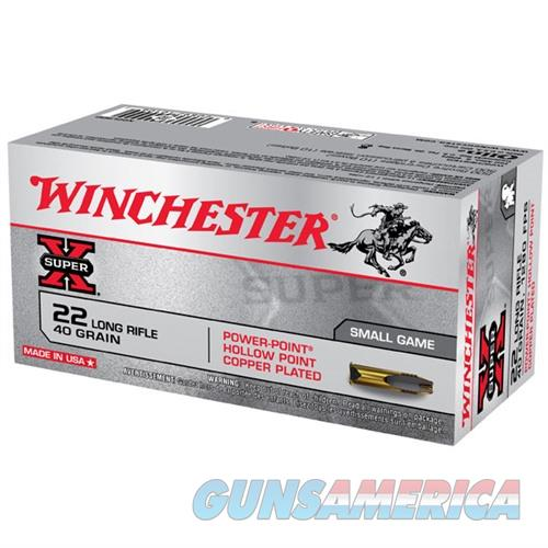 Winchester Ammo 22LR 40gr. Power-Point  Non-Guns > Ammunition