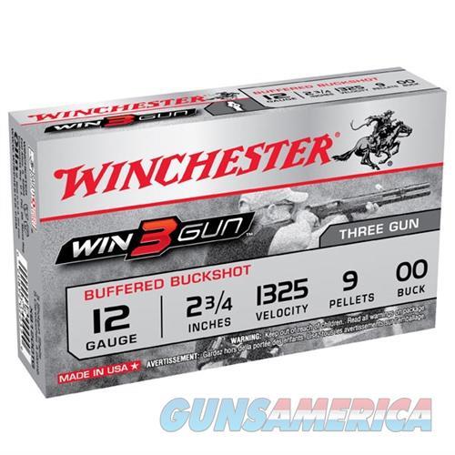 Winchester 3-Gun 12ga 2.75'' 9 Pellets #00 5/bx  Non-Guns > Ammunition