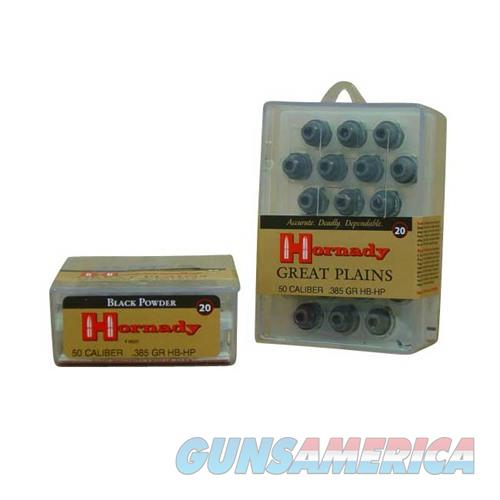 Hornady 50 CAL 385 GR HB-HP  Non-Guns > Reloading > Components > Bullets