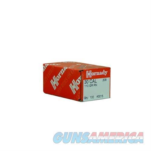 Hornady 30 CAL .308 110 GR RN  Non-Guns > Reloading > Components > Bullets