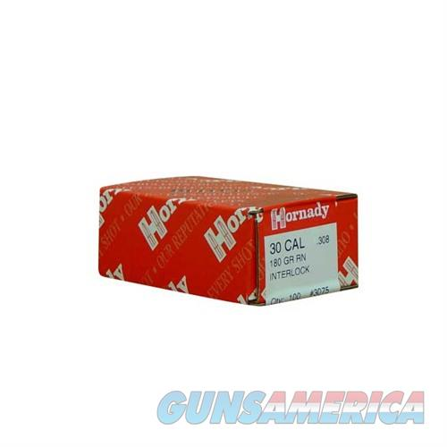 Hornady 30 CAL .308 180 GR RN  Non-Guns > Reloading > Components > Bullets