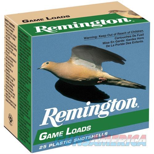 Remington Game Load 12ga 2.75'' 1oz #6 25/bx  Non-Guns > Ammunition