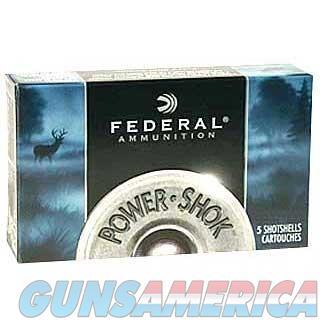 Federal Power Shok 12ga 2.75'' 12 Pel #00B 5/bx  Non-Guns > Ammunition