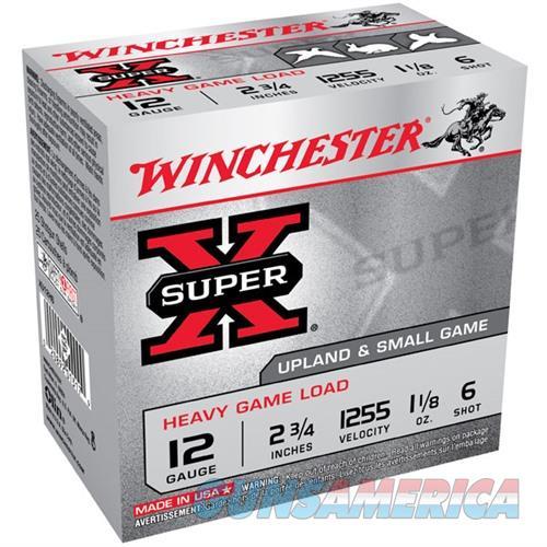 Winchester Super-X Heavy Game 12ga 2.75'' 1-1/8 oz. #6 25/bx  Non-Guns > Ammunition