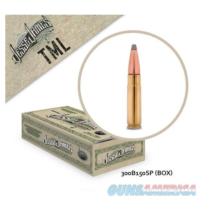 Jesse James TML 300 Blk 150 gr SP 20bx  Non-Guns > Ammunition