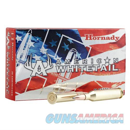 Hornady American Whitetail 7mm Mag 139gr Interlock SP 20/bx  Non-Guns > Ammunition