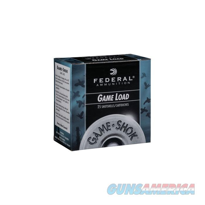 Federal Game Shok Game Load 12ga 2.75'' 1oz #6 25/bx  Non-Guns > Ammunition