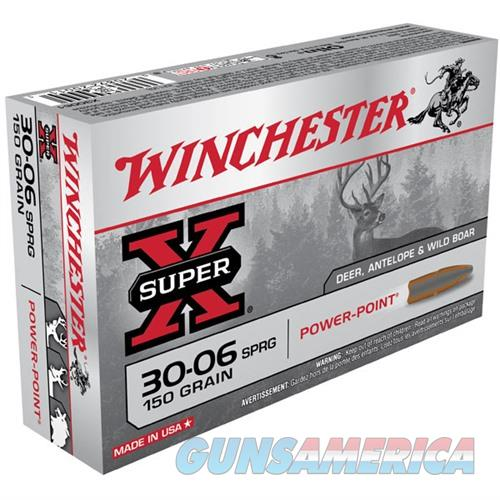 Winchester Ammo 30-06 Super-X 150gr PP  Non-Guns > Ammunition