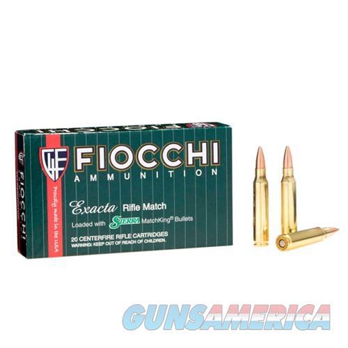 Fiocchi Exacta 223 Rem 77gr SMK HPBT 20/bx  Non-Guns > Ammunition