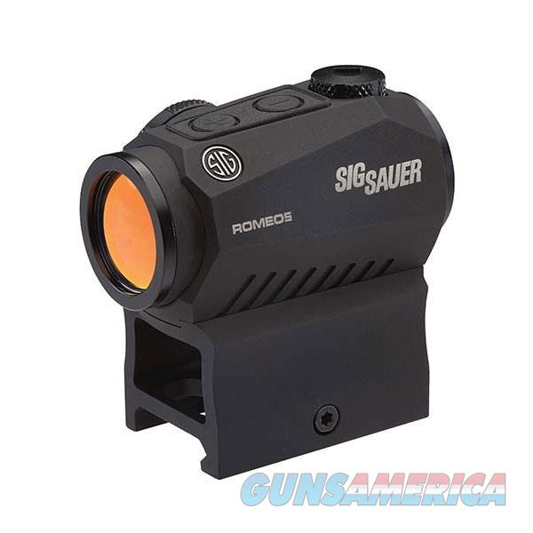 Sig Romeo5 Xdr Compact Red Dot Sight, 1X20Mm, 2 Moa Red Dot 65  Non-Guns > Scopes/Mounts/Rings & Optics > Rifle Scopes > Variable Focal Length