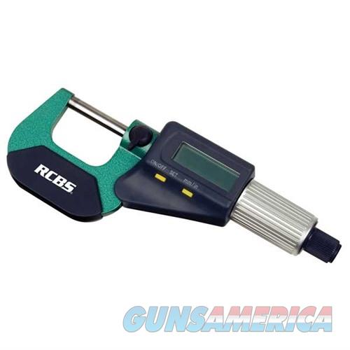 RCBS Electronic Digital Micrometer 0-1in  Non-Guns > Reloading > Components > Other