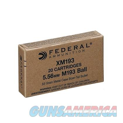 Federal Ammo 5.56 55gr FMJ-BT 20/bx  Non-Guns > Ammunition