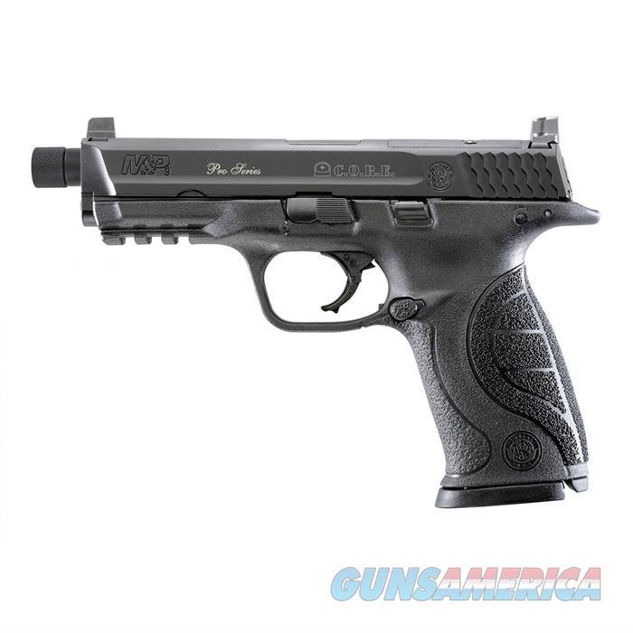 S&W M&P 9mm-Optic Ready Threaded Barrel 4.3'' Bbl 17Rd  Guns > Pistols > Smith & Wesson Pistols - Autos > Shield